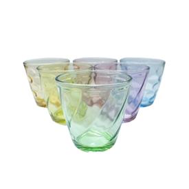 Jual Gelas Kaca VIERA Colorcup 6pcs Set TMS99-146