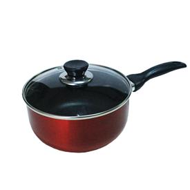 Jual Panci Sauce Pan VIERA Non Stick With Glass Lid 18cm TMS99-594