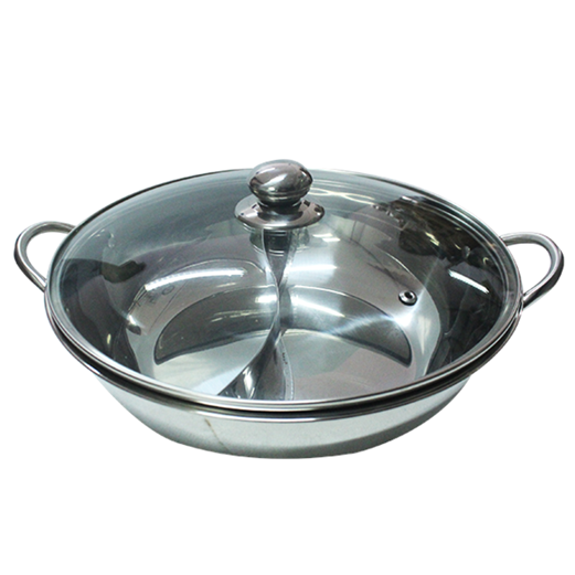 Jual Panci VIERA Shabu-Shabu Pot 30cm With Glass Lid TMS99-685