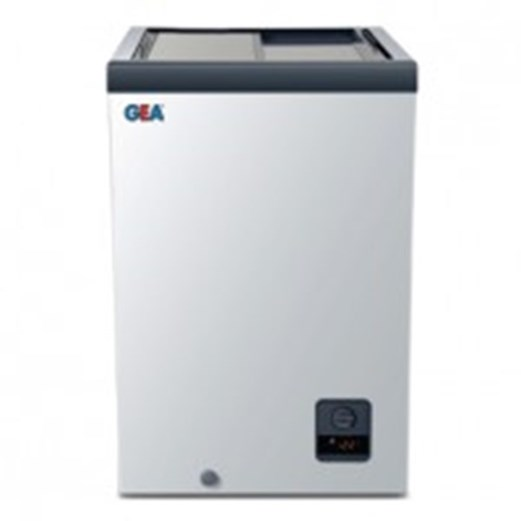 Jual Kulkas Sliding Flat Glass Freezer GEA SD-103