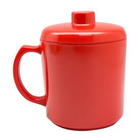 Jual Gelas Minum Gagang Besar Dengan Tutup DRAGON MELAMINE B0204 600ml - 12pcs