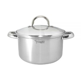 Jual Panci Sauce Pot Stainless 22cm DRAGON MELAMINE STPC0422 - 12pcs