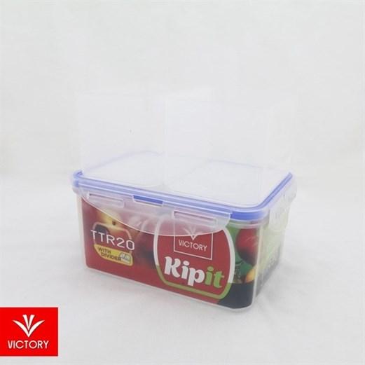 Kotak Makan Locking Kipit VICTORY TTR 20 With Divider