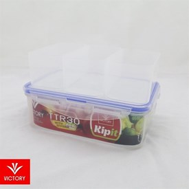 Jual Kotak Makan Locking Kipit VICTORY TTR 30 With Divider