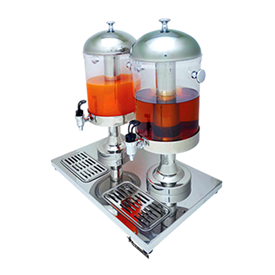 Jual Juice Dispenser 2 Tank WIRATECH ZCF-302