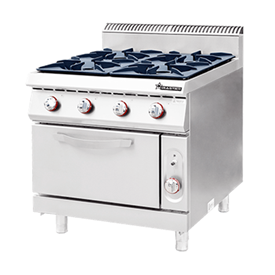 Jual Kompor Standing Gas 4 Burner With Oven WIRATECH CKB-900GO