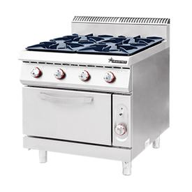Jual Kompor Standing Gas 4 Burner With Oven WIRATECH CKB-900GO