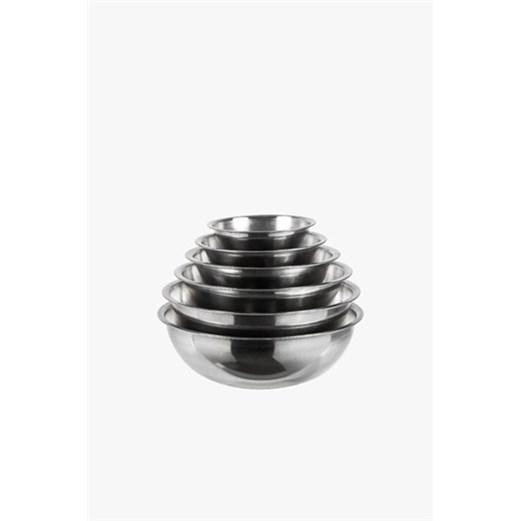 Jual Mixing Bowl - Mangkuk Stainless MEIWA 34cm - MW-SB2201-SS3401 - 6pcs
