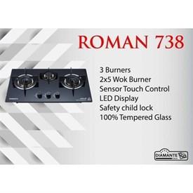 Jual Kompor Tanam DIAMANTE ROMAN 73