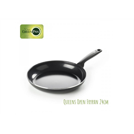 Jual Wajan Queens Open Fry Pan GREENPAN 24cm
