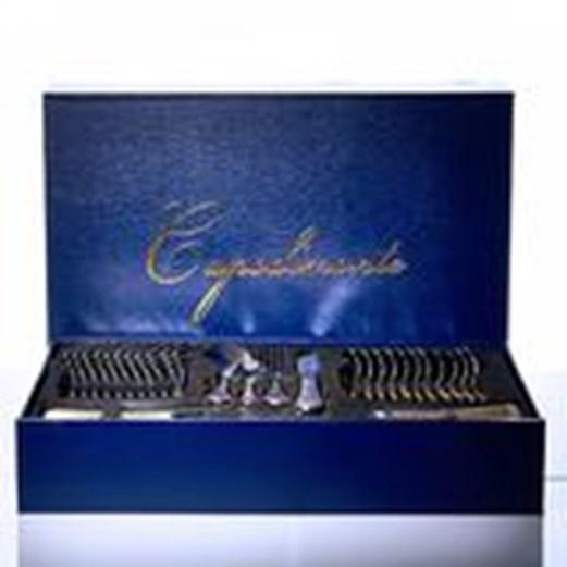 Sendok Set Tableware Stainless Steel CAPODIMONTE 72pcs