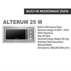 Jual Microwave DIAMANTE Alterum 25 M