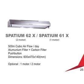 Jual Penghisap Asap Dapur DIAMANTE Spatium 62 X