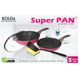 Jual BOLDE SUPER PAN SET BLACKPINK 5 PCS