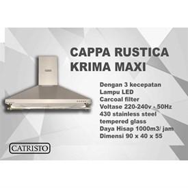Jual Penghisap Asap Dapur CATRISTO Cappa Rustica Krima Maxi