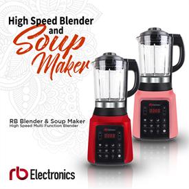 Jual Blender and Soup Maker RB ELECTRONICS BSM-1750