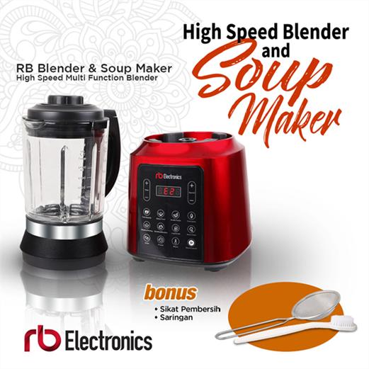 Blender and Soup Maker RB ELECTRONICS BSM-1750