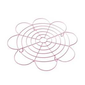 Jual Rak Pendingin Kue LISSE PREMIUM BAKEWARE Pink Flower