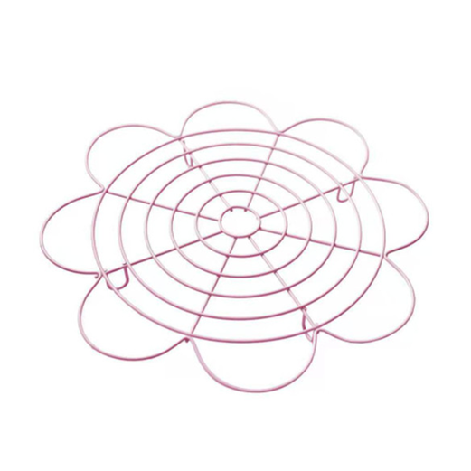 Rak Pendingin Kue LISSE PREMIUM BAKEWARE Pink Flower