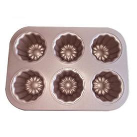 Jual Loyang Canelle LISSE PREMIUM BAKEWARE Cake Mould 6 Cup