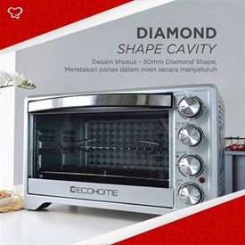 Jual Electric Oven Platinum ECOHOME EOP 888