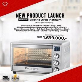 Jual Oven Listrik Platinum LED Digital Display ECOHOME EOP-888S