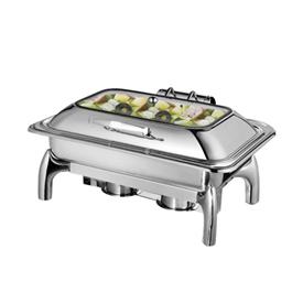 Jual Pemanas Makanan Hydraulic Chafing Dish GETRA F1016-B