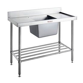 Jual Sink Bench With Splash Back SIMPLY STAINLESS 1200x700x900