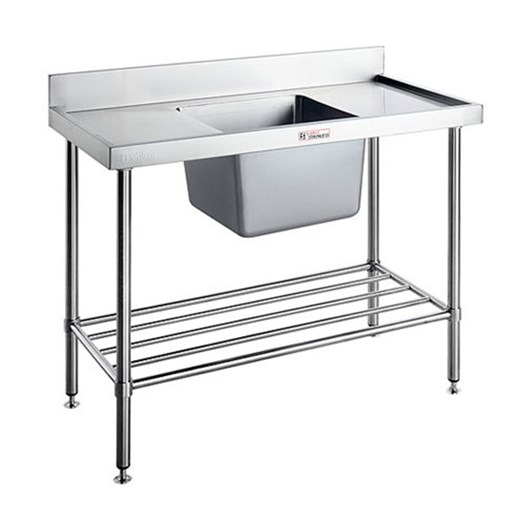 Jual Sink Bench With Splash Back SIMPLY STAINLESS 2100x700x900