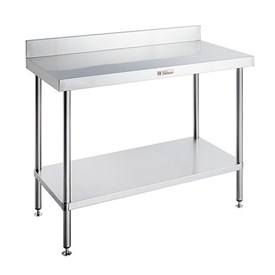 Jual SIMPLY STAINLESS - Work Bench with Splash Back (1500 x 600 x 900)