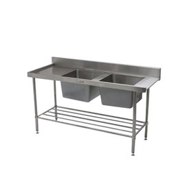 Jual Bak Cuci Piring Double Bowl SIMPLY STAINLESS 1650x600x900