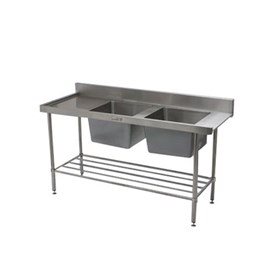 Jual Bak Cuci Piring Double Bowl SIMPLY STAINLESS 1650x700x900