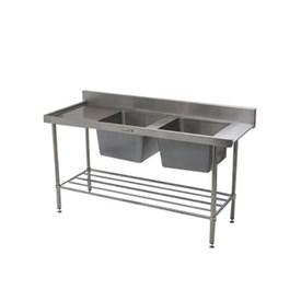 Jual Bak Cuci Piring Double Bowl SIMPLY STAINLESS 1650x700x900