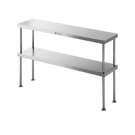 Jual Double Bench Overshelf SIMPLY STAINLESS 1200x300x750