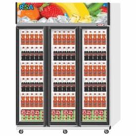 Jual Showcase Cooler - RSA Amethyst - Putih