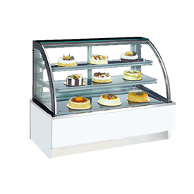 Jual Cake Showcase Curved CROWN HORECA CAD-120