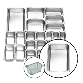 Jual Food Pan Stainless Steel GETRA FP 1/1-4 Perf