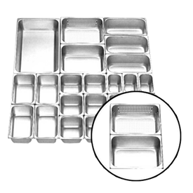 Jual Food Pan Stainless Steel GETRA FP 1/2-2.5