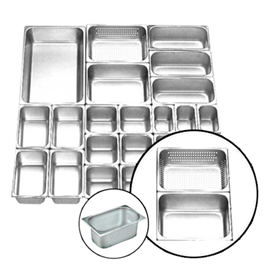 Jual Food Pan Stainless Steel GETRA FP 1/2-2.6-Perf