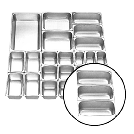 Jual Food Pan Stainless Steel GETRA FP 1/3-6