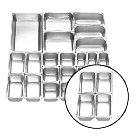 Jual Food Pan Stainless Steel GETRA FP 1/4-2.5