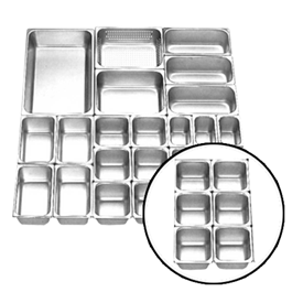 Jual Food Pan Stainless Steel GETRA FP 1/6-4