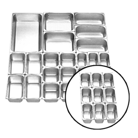 Jual Food Pan Stainless Steel GETRA FP 1/9-2.5