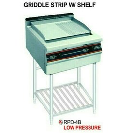 Jual Mesin Pemanggang Griddle Flat with Shelf GETRA RPD-4B