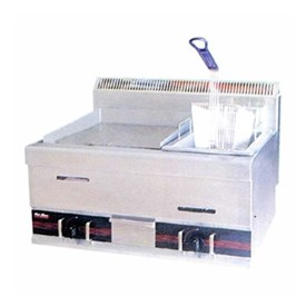 Jual Gas Griddle with Gas Fryer GETRA HGG 751