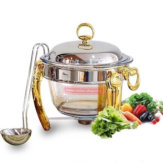 Jual Food Warmer Kaca OXONE OX 85RO 4Liter
