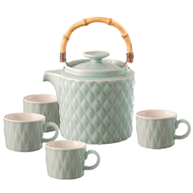 Jual TEA SET LOVERAMICS WEAVE