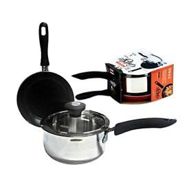 Jual Panci MAXIM Gift Set (Sauce Pan 18cm + FryPan 20cm)