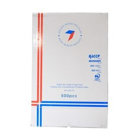 Jual Kertas Roti Baking Paper SEVEN Basic Bake 60x40cm Rim (Putih)