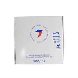 Jual Kertas Roti Baking Paper SEVEN Basic Bake 30x30cm Rim (Putih)
